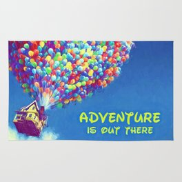 Up Balloons Rug