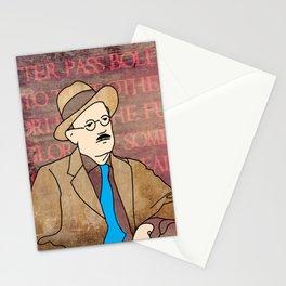 JAMES JOYCE ILLUSTRATION Stationery Cards
