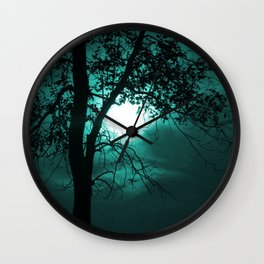 Moonlit Wall Clock