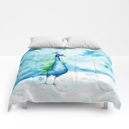 Peacocking Around Comforters