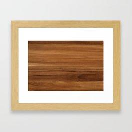Wooden decor furniture patter Framed Art Print