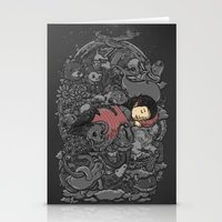 dreams Stationery Cards featuring Dreams by Alex Solis