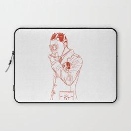 Gas Mask Laptop Sleeve