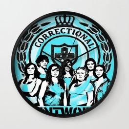 Wentworth Inmates Wall Clock