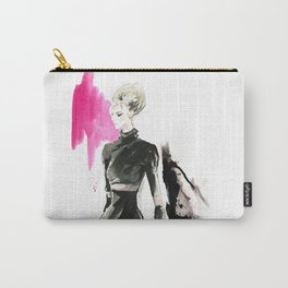Fashion Model Carry-All Pouch