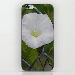 White Flower iPhone Skin