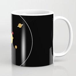 Solar System - Minimalism Abstract Pastel Colours Coffee Mug