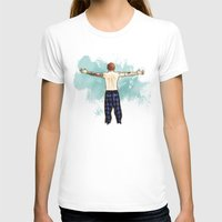 cyrilliart T-shirts featuring Tenerife Sea by Cyrilliart