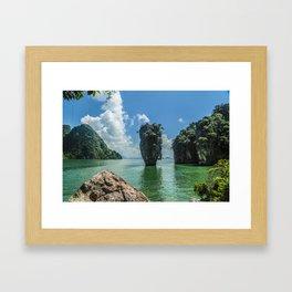 James Bond island Framed Art Print
