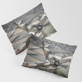 Vickers Armstrong Spitfire FR XIV Pillow Sham