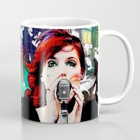 transistor Mugs featuring Transistor - Before We All Become One… by Danielle Tanimura