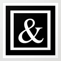 monogram Art Prints featuring & monogram by luxcouture