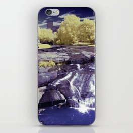 Falls Park on the Reedy in Greenville, South Carolina, A beautiful park space. iPhone Skin