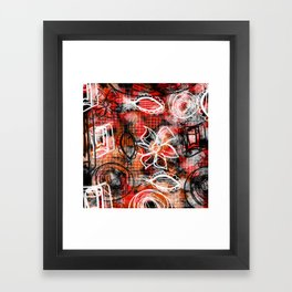 Going rouge Framed Art Print