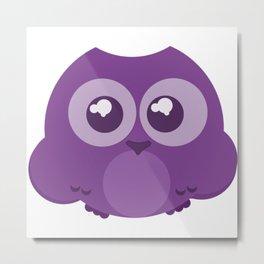 Fukurou (Owl) Metal Print