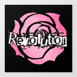 Grant me the power to bring the world revolution! Canvas Print