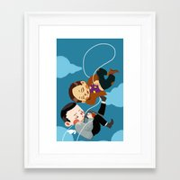 inception Framed Art Prints featuring inception by Saalk