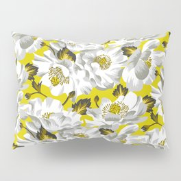 Mount Cook Lily - Yellow/White Pillow Sham
