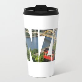 Yinzer Pittsburgh Incline Travel Mug