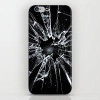 broken iPhone & iPod Skins featuring Broken by nicebleed