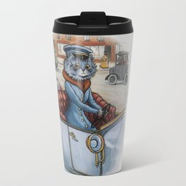 Louis Wain - The Cat Chauffeur Travel Mug