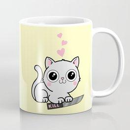 Kitty Hearts Kill - Cats Love Plotting Coffee Mug
