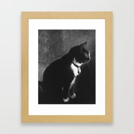 Mittens Framed Art Print