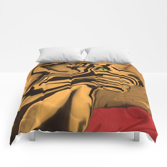 A Tiger for Tiago Comforters