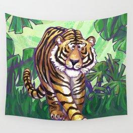 Animal Parade Tiger Wall Tapestry