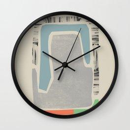 Shape C Wall Clock