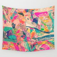 arab Wall Tapestries featuring Harem by Fernando Vieira