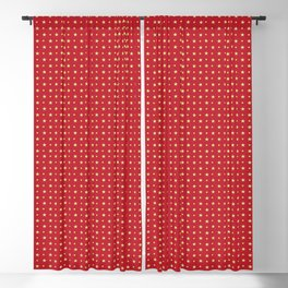 Golden Shinning and Twinkling Stars Blackout Curtain
