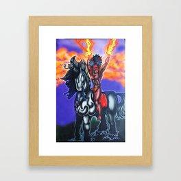 Thunder Framed Art Print