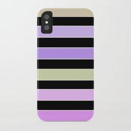 Horizontal strip  4 iPhone Case