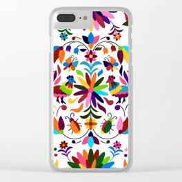 Mexico pattern Clear iPhone Case