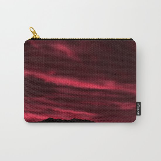 SW Burgundy Sunrise Carry-All Pouch