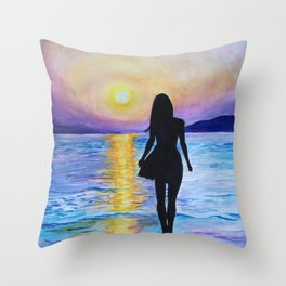 Bewitching Hour Throw Pillow
