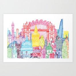 London Towers Art Print