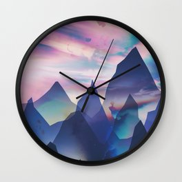 Opalescent Wall Clock
