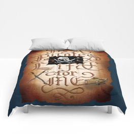 It's A Pirates Life For Me Comforters