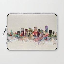 edmonton canada skyline Laptop Sleeve