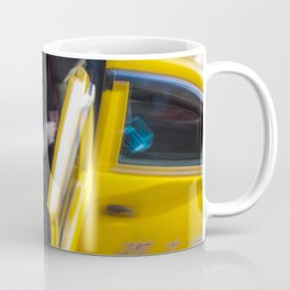 Taxi passenger's coming out Coffee Mug
