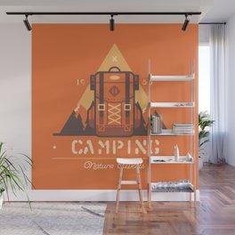 Camping Tippi Wall Mural