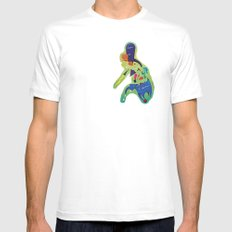 The Philippines as a Menagerie MEDIUM White Mens Fitted Tee