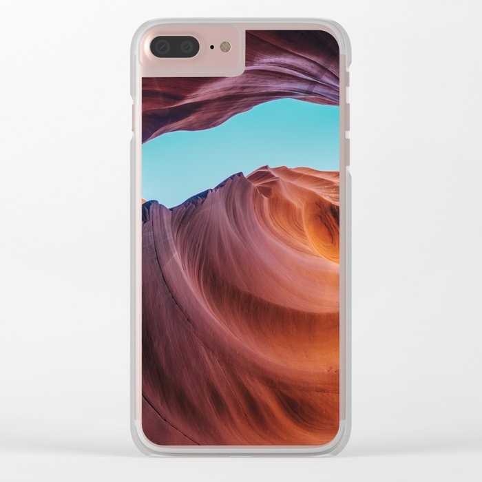 Page, Arizona Clear iPhone Case