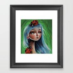 The Lady Bug Framed Art Print