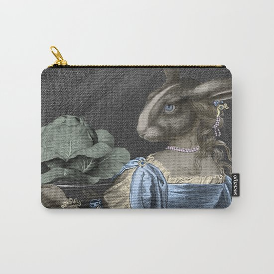 HEAD ON A PLATTER Carry-All Pouch