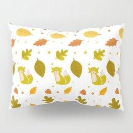 Autumn Elements Pattern Pillow Sham
