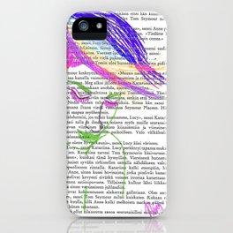Peacock Hair iPhone Case