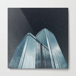 City of glass (1983) Metal Print